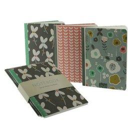 Calypso Cards Clover Leaf Mini Journals, Set/3