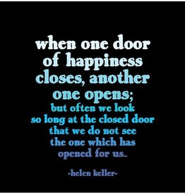 Quotable Door of Happiness Magnet