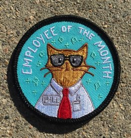 Frog and Toad Employee of the Month Patch