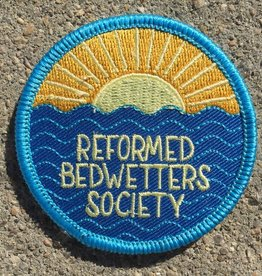 Frog and Toad Reformed Bedwetters Society Patch