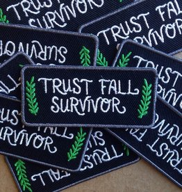 Frog and Toad Trust Fall Survivor Patch