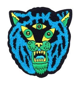 Valley Cruise Press Three Eyed Tiger Chenille Patch