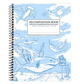 Decomposition Books Flying Sharks Coilbound Decomp Book