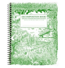 Decomposition Books Gardening Gnomes Coilbound Decomp Book