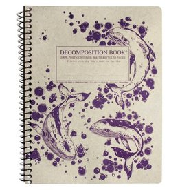Decomposition Books Humpback Whales Coilbound
