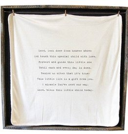 SugarBoo Designs Baby Blanket - Lord Look Down