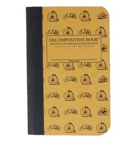Decomposition Books Vintage Bicycles Pocket Decomp Book
