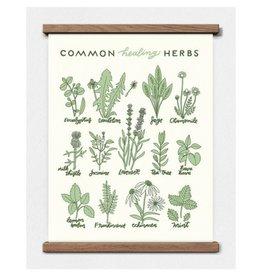 Worthwhile Paper Healing Herbs, 11 x 14 Print