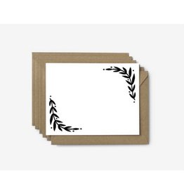 Worthwhile Paper Foliage Note Cards, Set/6
