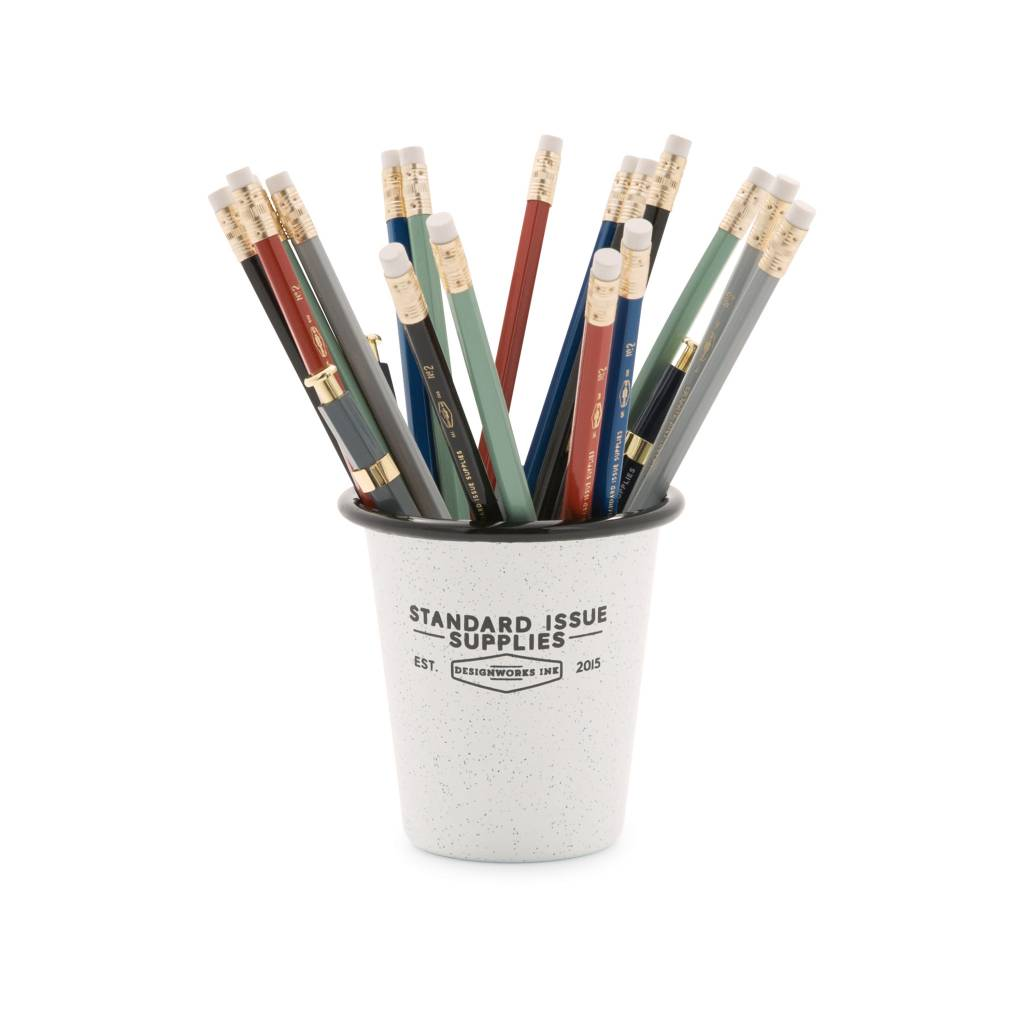 Standard Issue Pencil Cup - Typo Market