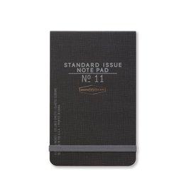 Standard Issue The Ledger - Black w/ elastic closure