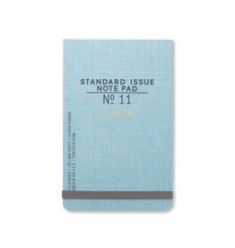 Standard Issue The Ledger - Blue w/ elastic closure
