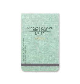 Standard Issue The Ledger - Green w/ elastic closure