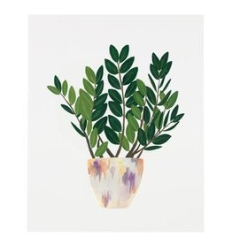 Our Heiday ZZ Plant Print, 8 x 10