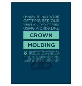 Calypso Cards Crown Molding Card