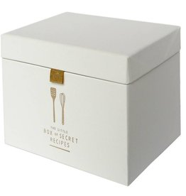 Pleased to Meet Recipe Box, Ivory