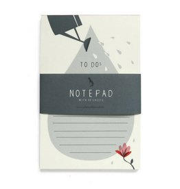 Pleased to Meet Watering Can Notepad