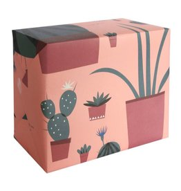 Pleased to Meet Cactus Collection Gift Wrap