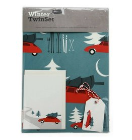 Pleased to Meet Cars Twin Set Gift Wrap