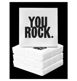 Quotable You Rock Napkins