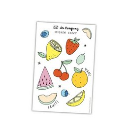 In Company Fruit Sticker Sheets