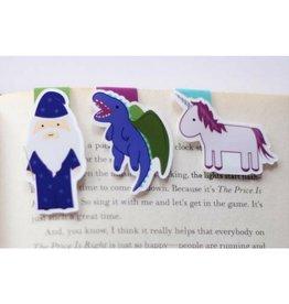 Crafted Van Fantasy Mini Magnetic Bookmarks, 3pk