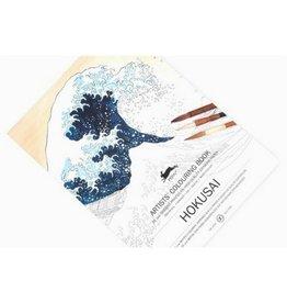 Pepin Press Hokusai Coloring Book