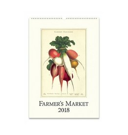 Cavallini Papers Farmer's Market Wall Calendar