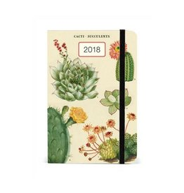 Cavallini Papers Succulents 2018 Weekly Planner
