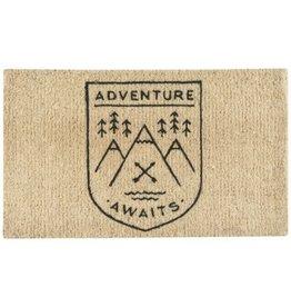 Now Designs Adventure Awaits Doormat
