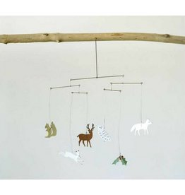 Creative Co-op Woodland Animal Mobile