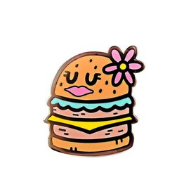 Valley Cruise Press Pretty Burger Pin