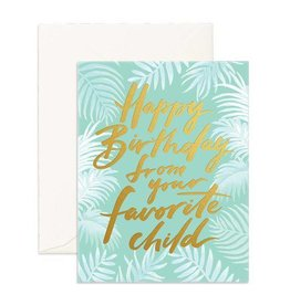 Fox and Fallow Favorite Child Card