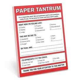 Knock Knock Nifty Notes: Paper Tantrum