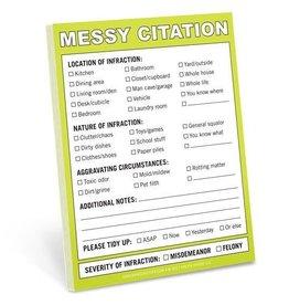 Knock Knock Nifty Notes: Messy Citation