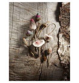 Roost Woodland Felt Mushroom Ornament, 5 Styles