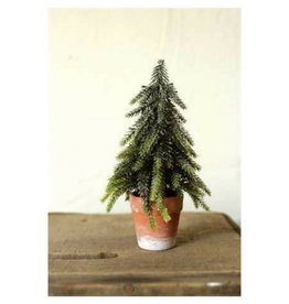 Creative Co-op Fir Tree in Pot