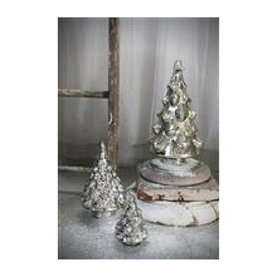 Creative Co-op Mercury Glass Tree, Silver