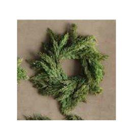 Creative Co-op Pine Wreath w/ Cedar Cones