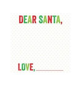 Ann Page Dear Santa Notepad
