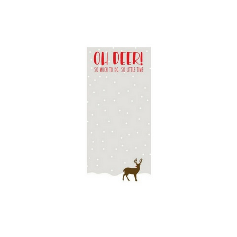 Ann Page Oh Deer! Notepad