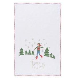Now Designs Peace and Joy Tea Towel