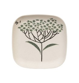 Magpie & Jay Flora Bamboo Tray, Elderflower