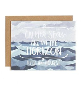 1Canoe2 Calmer Seas