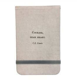 SugarBoo Designs Fabric Notebook, C.S. Lewis