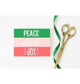 When It Rains Peace Love Joy, Box of 8