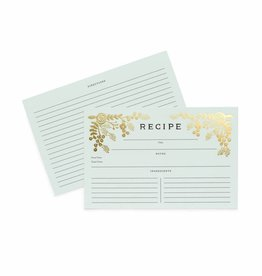 Rifle Paper Rifle - Golden Garden Recipe Cards