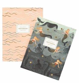 Rifle Paper Vintage Mermaid Notebooks