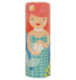 Petit Collage Playful Mermaids Tin Canister Puzzle