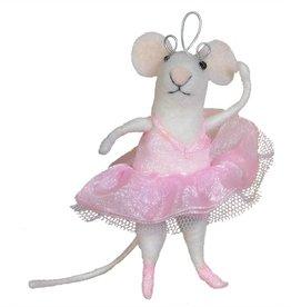HomArt Felt Ballerina Ornament